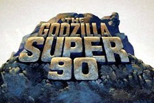 The Godzilla Super 90  Logo