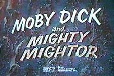 Moby Dick and Mighty Mightor  Logo