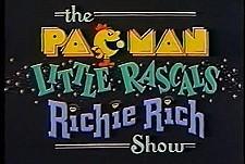 The Pac-Man / Little Rascals / Richie Rich Show  Logo