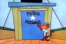The Peter Potamus Show  Logo