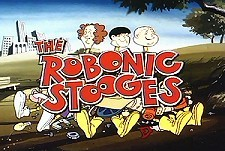 The Three Robonic Stooges  Logo