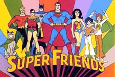 Super Friends Episode Guide Logo