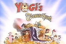 Yogi's Treasure Hunt  Logo
