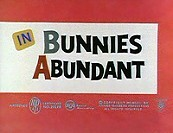 Bunnies Abundant Cartoon Picture