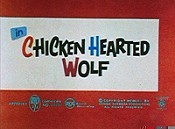 Chicken Hearted Wolf Cartoon Picture