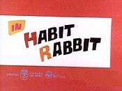 Habit Rabbit Cartoon Picture