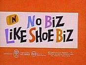 No Biz Like Shoe Biz Cartoon Picture