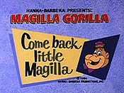 Come Back Little Magilla Free Cartoon Pictures