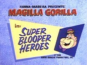 Super Blooper Heroes Picture Into Cartoon