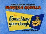 Come Blow Your Dough Cartoon Picture