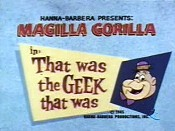 That Was The Geek That Was Picture Into Cartoon