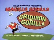 Gridiron Gorilla Cartoon Picture