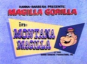 Montana Magilla Cartoon Picture