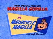Motorcycle Magilla Cartoon Picture