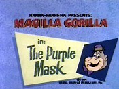 The Purple Mask Picture Into Cartoon