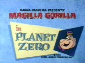 Planet Zero Cartoon Picture