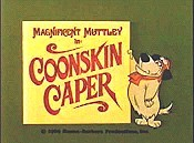 Coonskin Caper Cartoon Picture