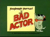 The Bad Actor Cartoon Picture