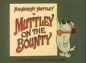 Muttley On The Bounty Cartoon Picture