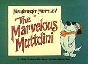 The Marvelous Muttdini Cartoon Picture