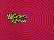 The Backyard Jungle Cartoon Picture