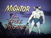 The Tree Pygmies Free Cartoon Picture