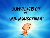 Mr. Monkeyman Cartoon Character Picture