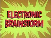 Electronic Brainstorm Picture Into Cartoon
