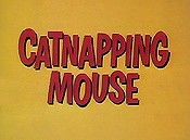 Catnapping Mouse Cartoon Picture