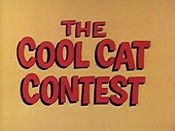The Cool Cat Contest Free Cartoon Picture