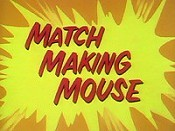 Match Making Mouse Picture Into Cartoon