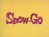 Snow-Go Cartoon Picture