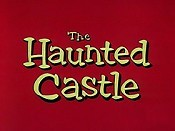 The Haunted Castle Free Cartoon Picture