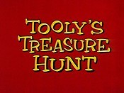 Tooly's Treasure Hunt Free Cartoon Picture