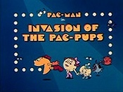 Invasion Of The Pac-Pups Picture Into Cartoon