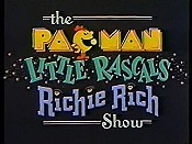 The Pac-Man / Little Rascals / Richie Rich Show (Series) Cartoon Funny Pictures