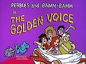 The Golden Voice Cartoon Picture