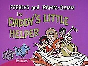 Daddy's Little Helper Cartoon Picture