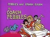 Coach Pebbles Free Cartoon Picture