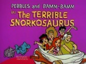 The Terrible Snorkosaurus Cartoon Picture