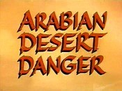 Arabian Desert Danger Cartoon Picture