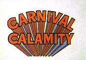 Carnival Calamity Cartoon Character Picture