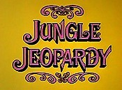 Jungle Jeopardy Picture To Cartoon