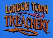 London Town Treachery Free Cartoon Picture
