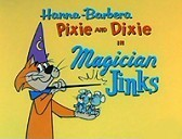 Magician Jinks Free Cartoon Picture