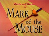 Mark Of The Mouse Free Cartoon Picture
