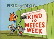 Kind To Meeces Week Free Cartoon Picture