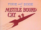 Missile Bound Cat Cartoon Picture