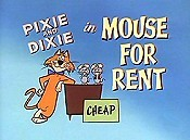 Mouse For Rent Cartoon Picture