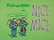 Nice Mice Free Cartoon Picture